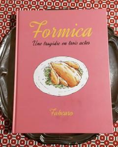 La 1ère de couv' de Formica