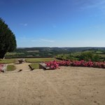 Terrasse du château de Vézelay