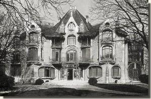 Hôtel Nozal détruit en 1957 par un promoteur immobilier