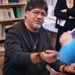 Luis Sepulveda au Salon du Livre de Paris